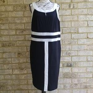 AA Studio AA Dress Black/White Sz 20W